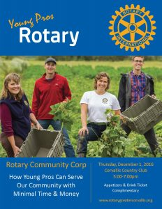Rotary Community Corp coming Dec. 1