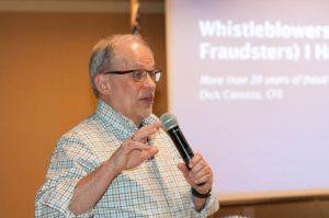 Dick Carozza educates on Fraud